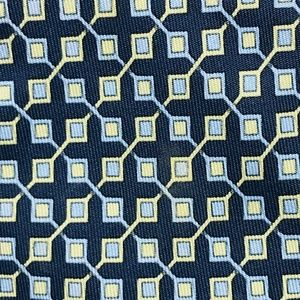 HERMES MICRO CHECKED PATTERN TIE